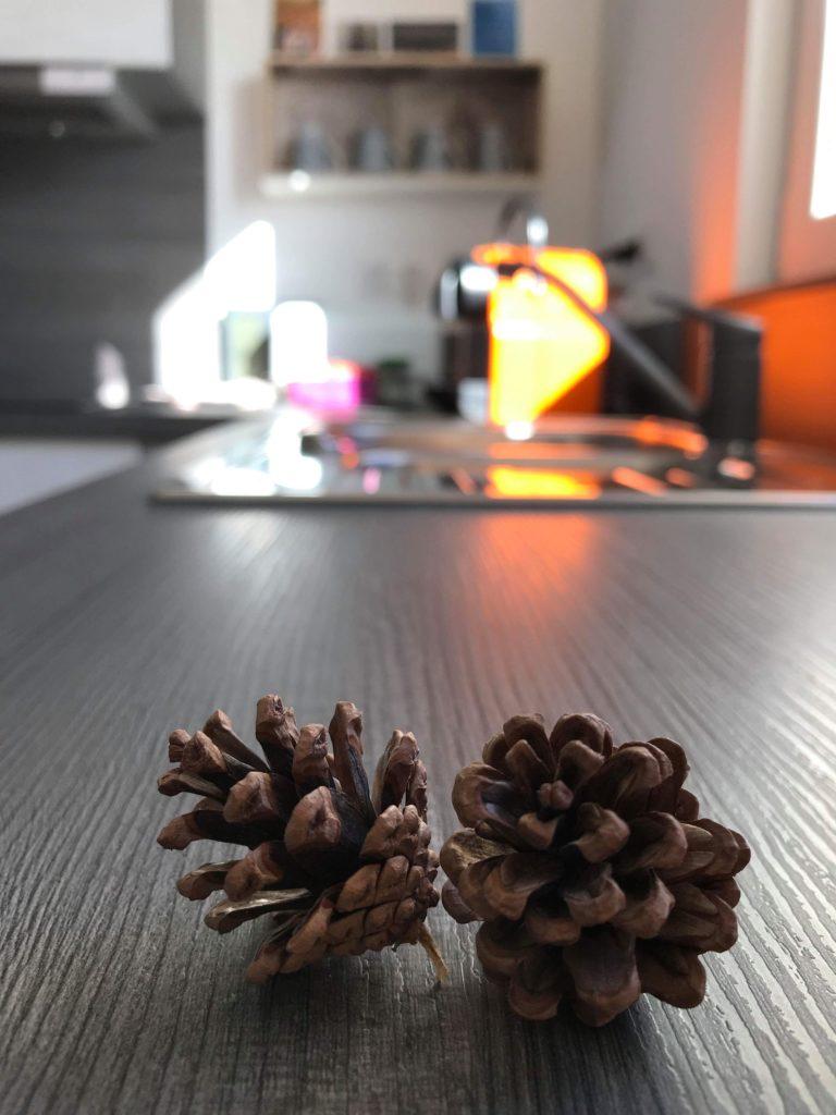 espace cuisine décontracté Sleeping Bio Tea